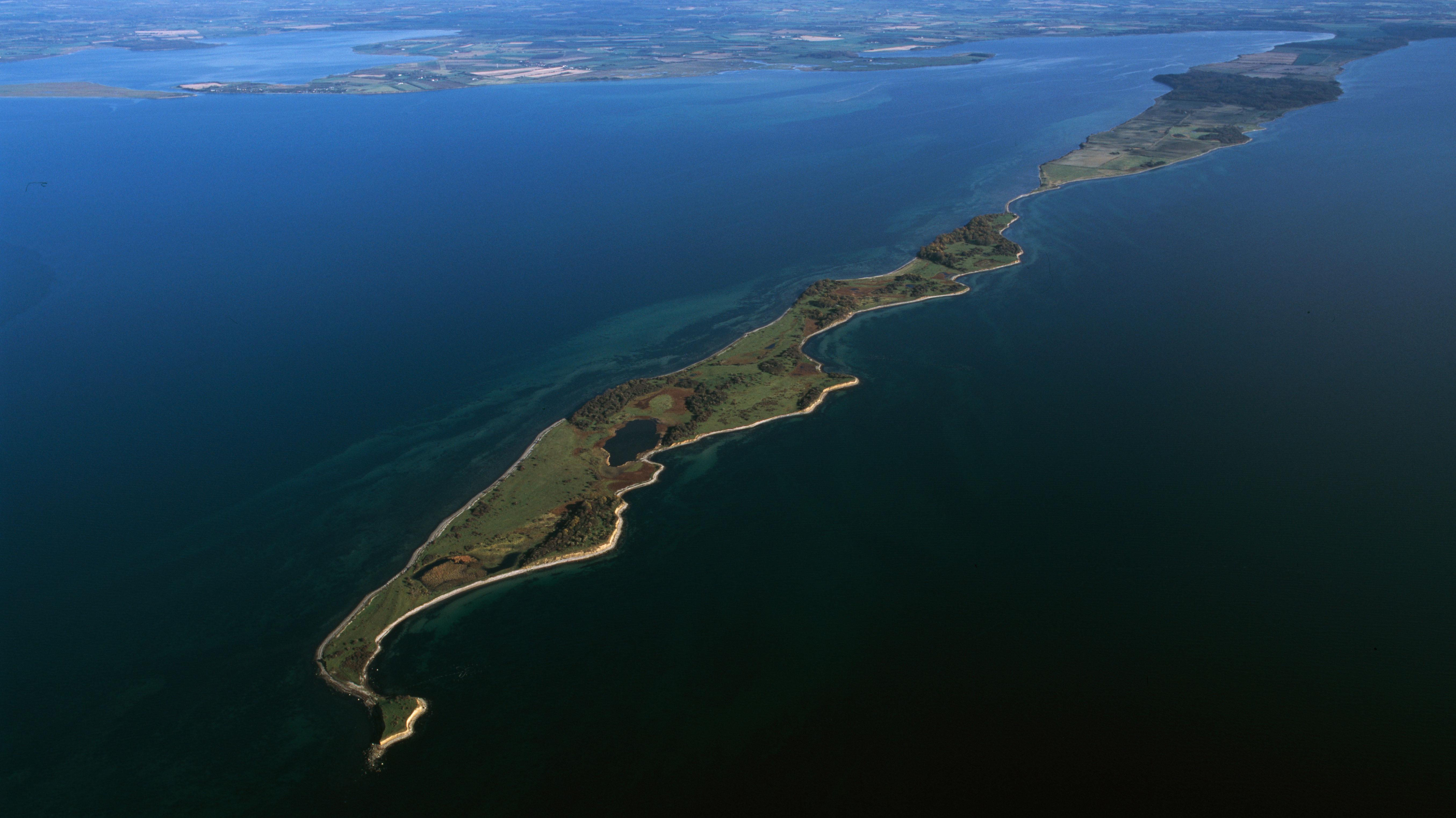 Omr. 169 Havet og kysten mellem Karrebæk Fjord og Knudshoved Odde. Foto: Jan Kofod Winther
